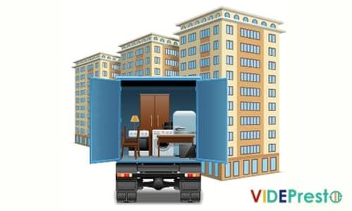 location benne gravats et debarras appartement